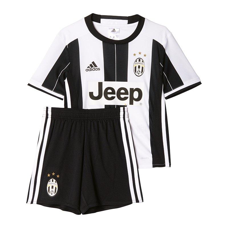 adidas FC Juventus Turin Minikit Home 16/17 Weiss - weiss