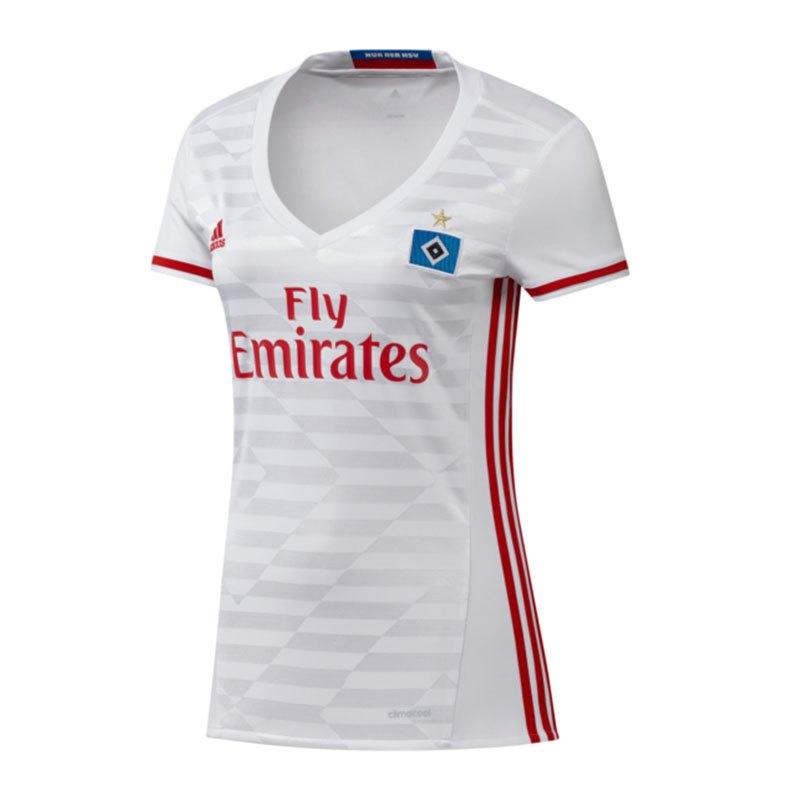 adidas Hamburger SV Trikot Home Damen 16/17 Weiss - weiss
