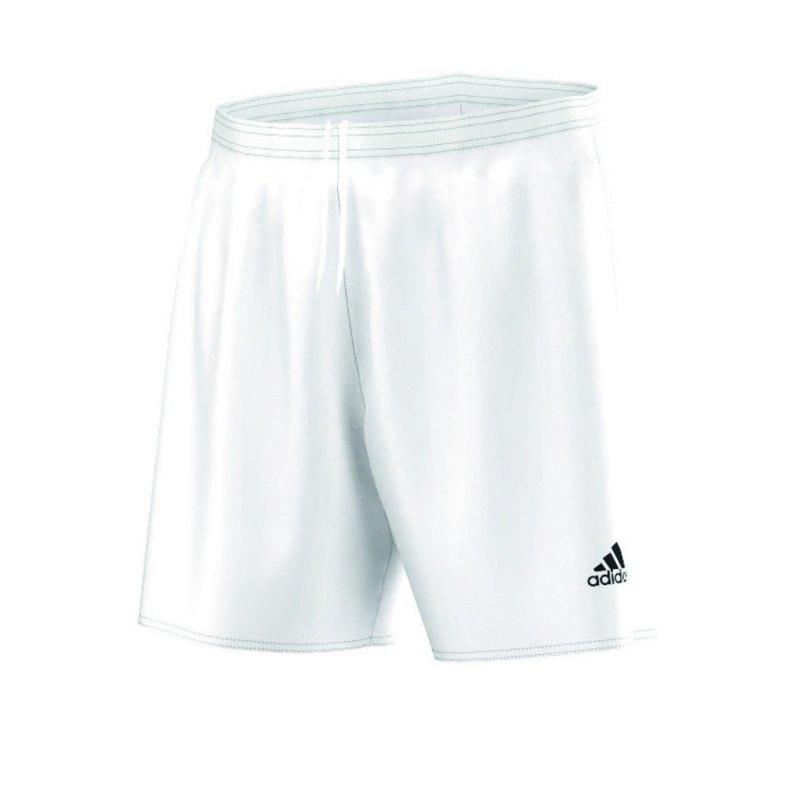 adidas Parma 16 Short mit Innenslip Weiss - weiss