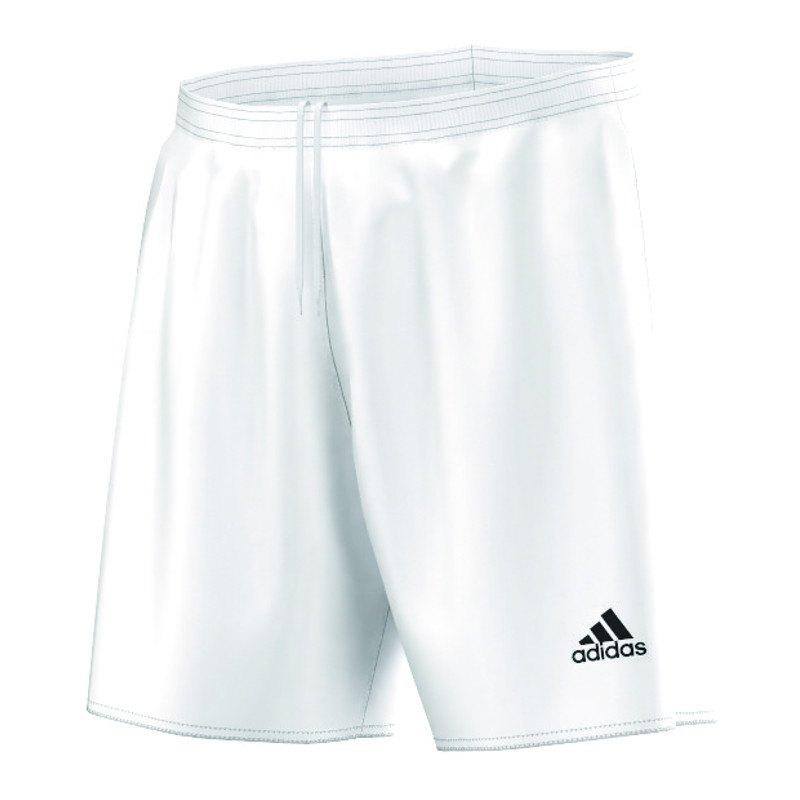 adidas Parma 16 Short ohne Innenslip Weiss - weiss