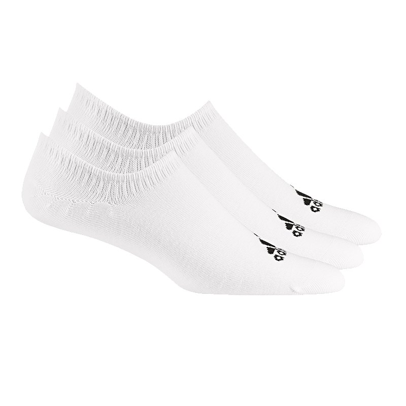 adidas Performance Invisible 3er Pack Socken Weiss - weiss