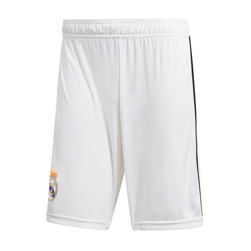 adidas Real Madrid Short Home 2018/2019 Weiss - weiss