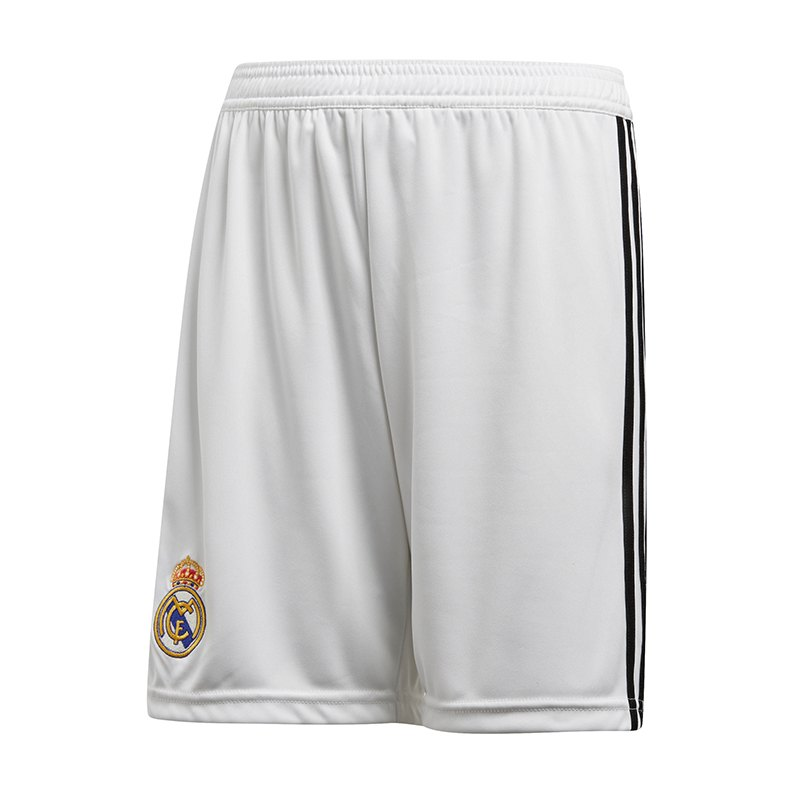 adidas Real Madrid Short Home Kids 2018/2019 - weiss