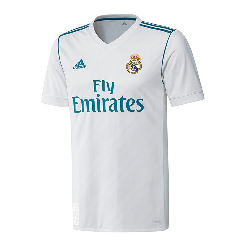 adidas real madrid trikot home 2017 2018 weiss weiss. Black Bedroom Furniture Sets. Home Design Ideas
