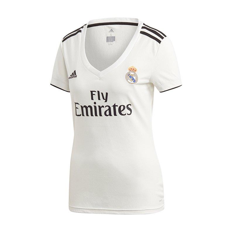 adidas Real Madrid Trikot Home Damen 2018/2019 - weiss