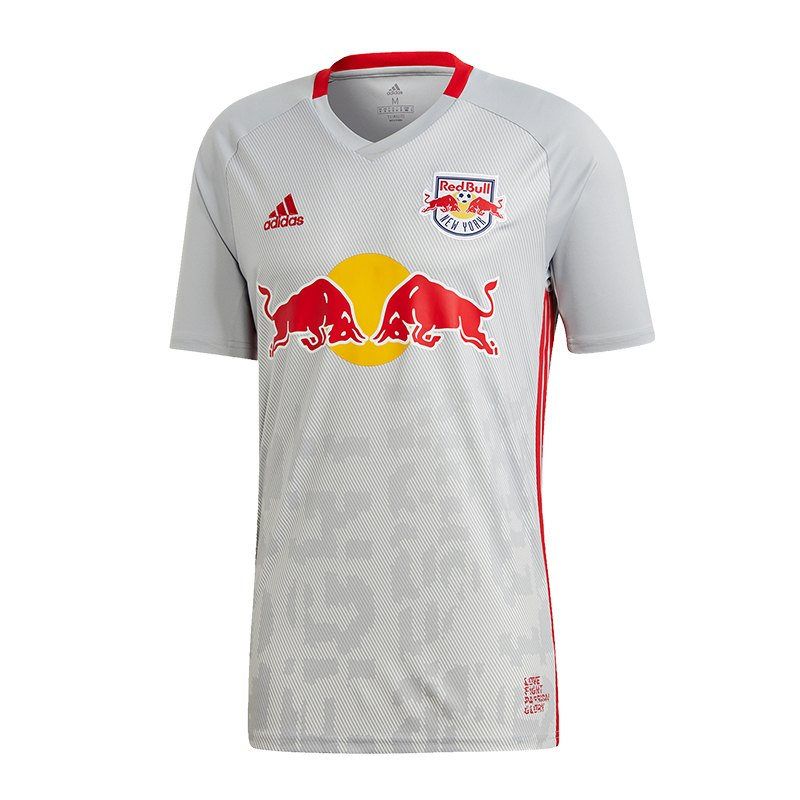 adidas red bull new york trikot home 18 19 weiss jersey. Black Bedroom Furniture Sets. Home Design Ideas