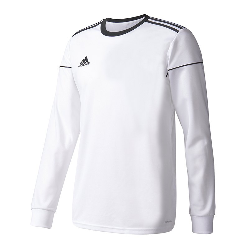 adidas squadra 17 trikot langarm weiss schwarz weiss. Black Bedroom Furniture Sets. Home Design Ideas