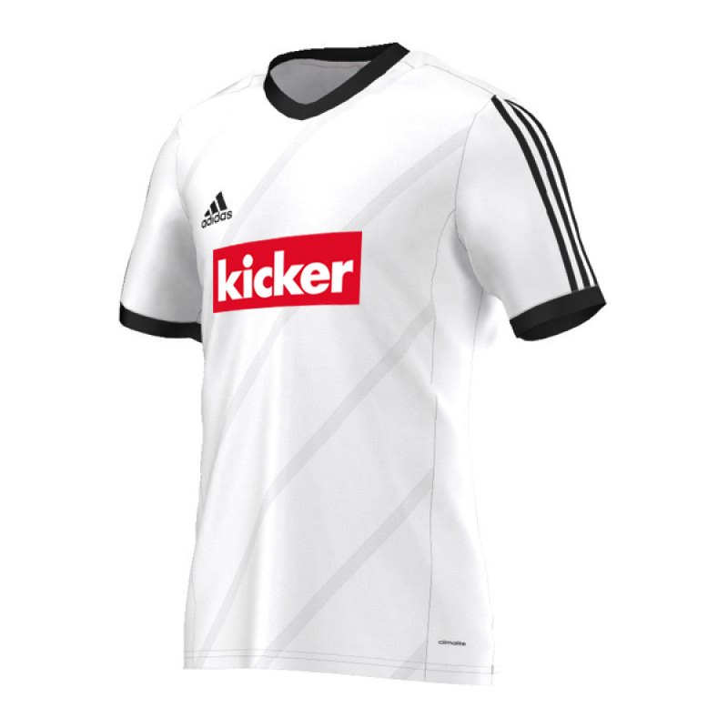 adidas tabela 14 trikot kurzarm kids weiss schwarz kurzarmtrikot sportbekleidung teamsport. Black Bedroom Furniture Sets. Home Design Ideas