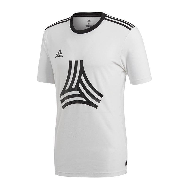 adidas Tango Logo Tee T-Shirt Weiss - weiss