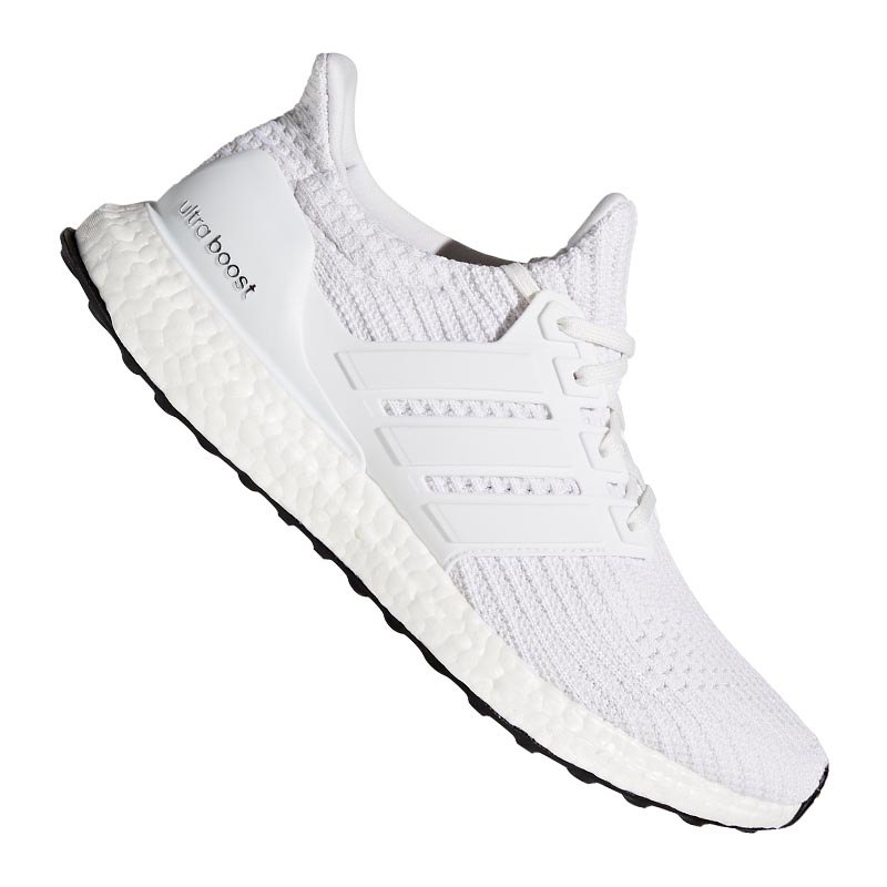adidas ultra boost running weiss laufschuh joggen. Black Bedroom Furniture Sets. Home Design Ideas