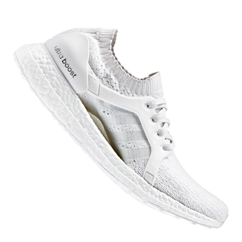 adidas ultra boost x running damen weiss grau. Black Bedroom Furniture Sets. Home Design Ideas