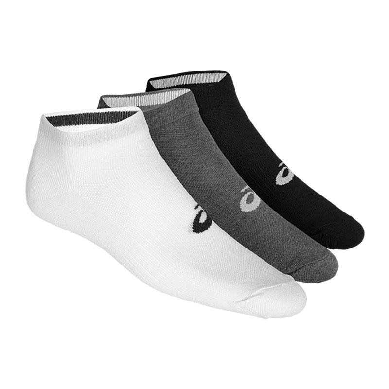 Asics 3er Pack PED Sock Socken F0701 - weiss