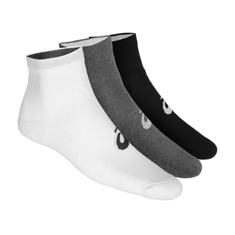 Asics 3er Pack Quarter Socks Socken F0701 - weiss