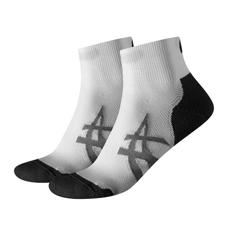 Asics Cushioning Socks Socken 2er Pack Run F0001 - weiss