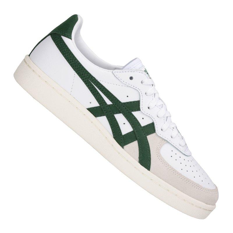 Asics Tiger GSM Sneaker Weiss Grün F101 - Weiss