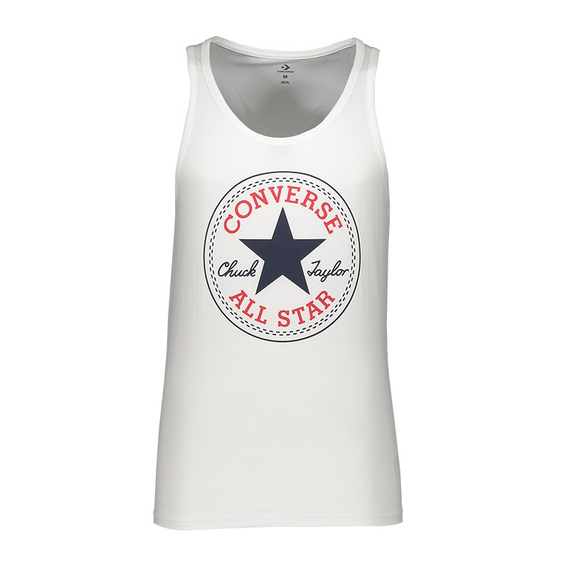 Converse Chuck Patch Tanktop Weiss FA04 - Weiss