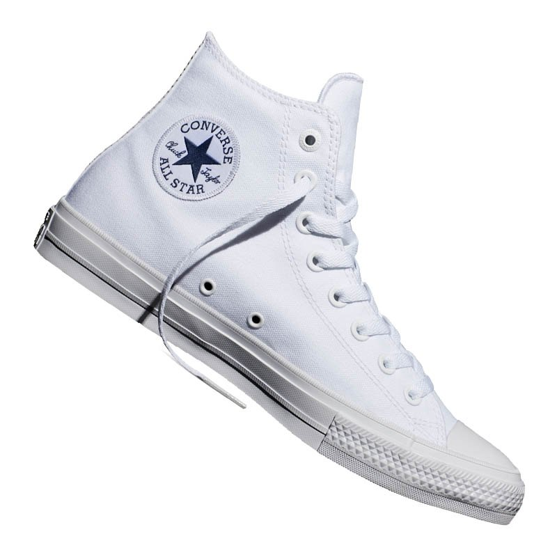 Converse Chuck Taylor All Star II High Weiss - weiss