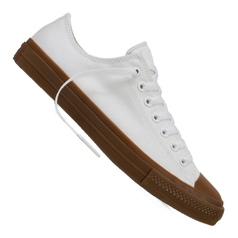 converse chuck taylor as ii low sneaker weiss weiss. Black Bedroom Furniture Sets. Home Design Ideas