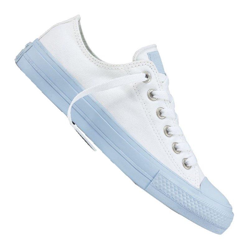 converse chuck taylor as ii ox sneaker damen weiss schuh shoe women frauen damen sneaker. Black Bedroom Furniture Sets. Home Design Ideas