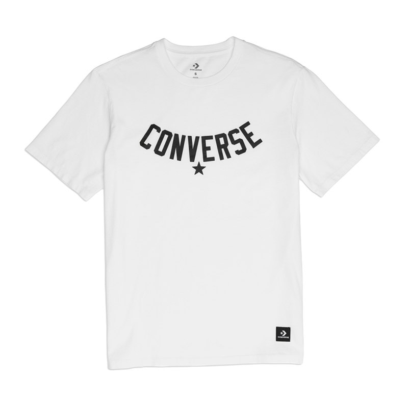 Converse Essentials Supima Graphic T-Shirt FA01 - weiss