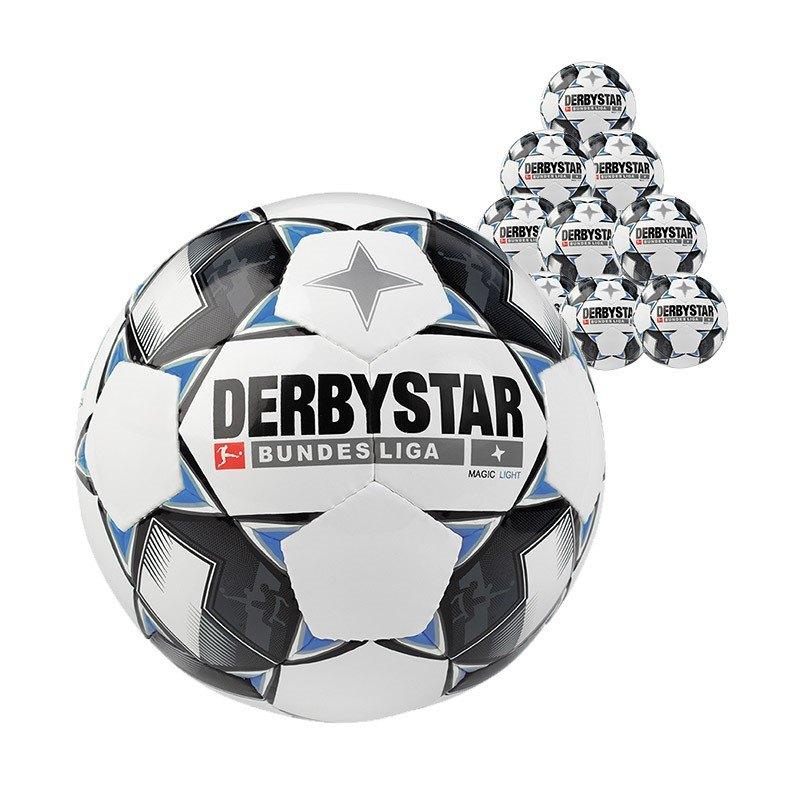 Derbystar Bundesliga Magic 10xLightball 350 Gramm F126 - weiss
