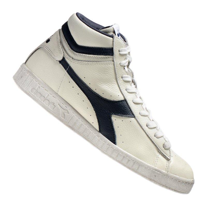 Diadora Game L High Waxed Sneaker C5262 - Weiss