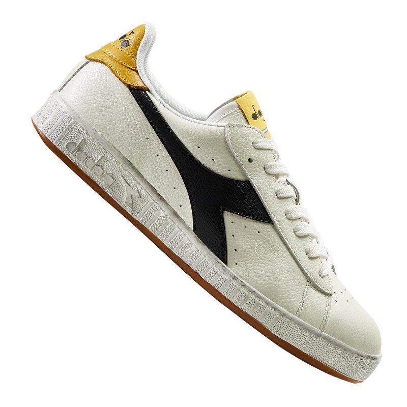 Diadora Game L Low Waxed Sneaker C7707 - Weiss