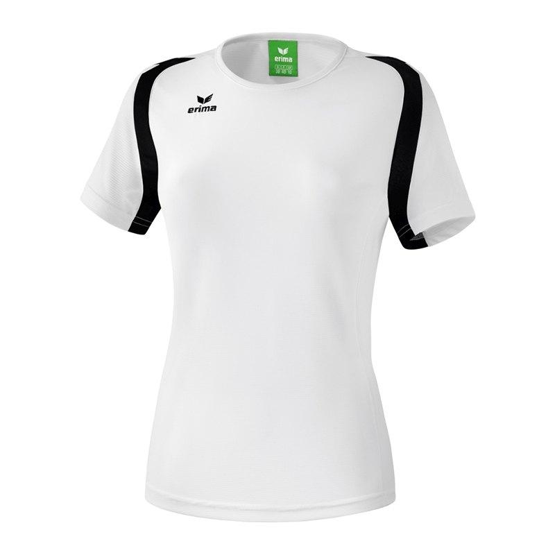 Erima Razor 2.0 T-Shirt Damen Weiss Schwarz - weiss