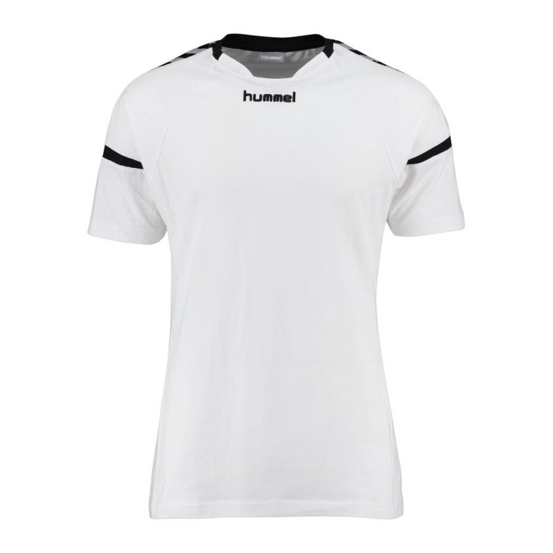 Hummel Authentic Charge SS T-Shirt Kids F9001 - weiss