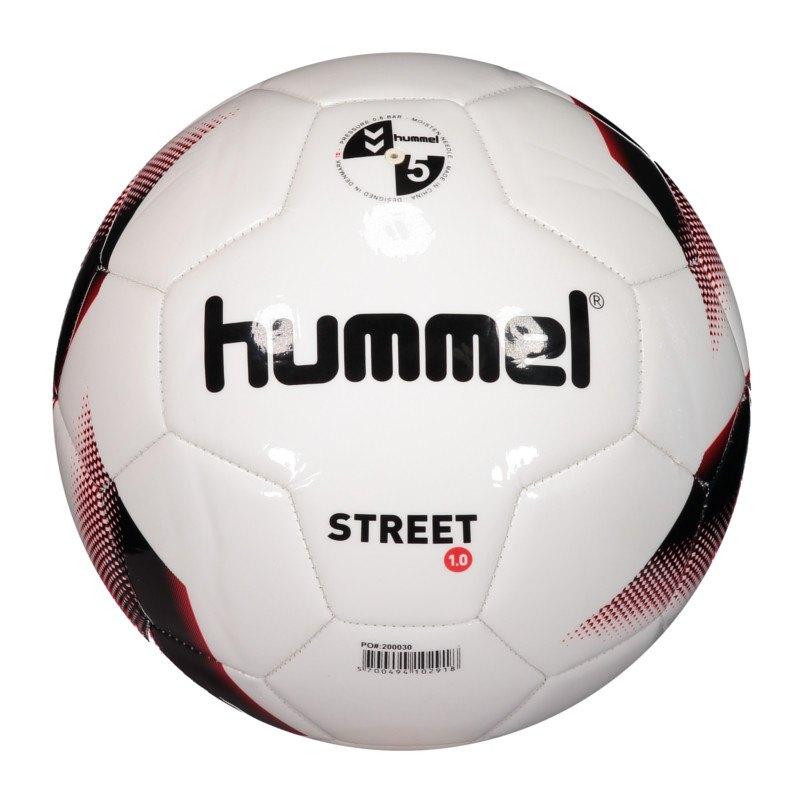 hummel sc freiburg street fussball weiss rot f9382 fanshop fanartikel winterm tze. Black Bedroom Furniture Sets. Home Design Ideas
