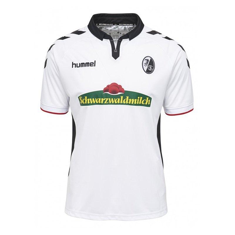 Hummel SC Freiburg Trikot Away 17/18 Kids F9124 - weiss