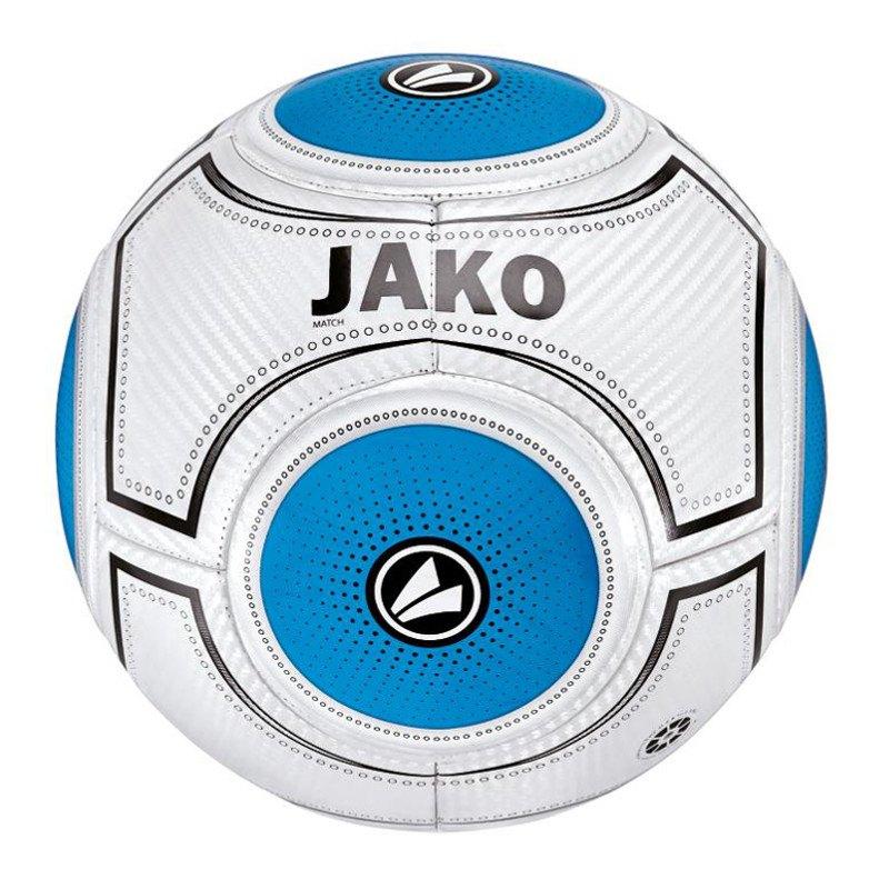Jako Ball Match 3.0 Fussball Weiss Blau F15 - weiss