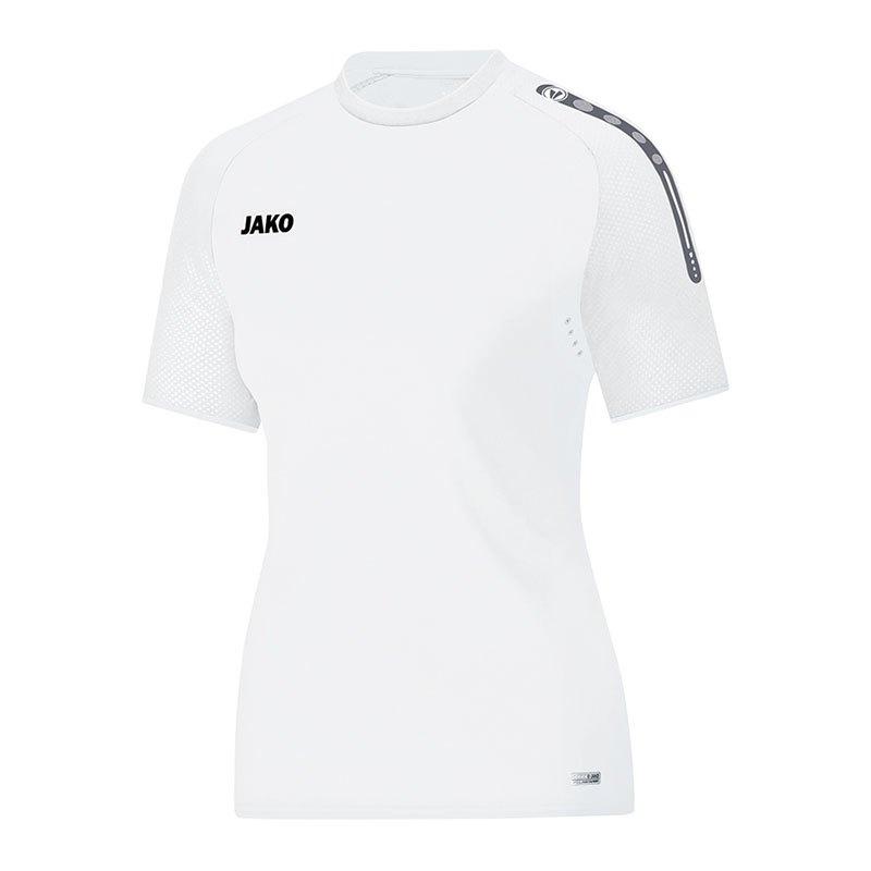 Jako Champ T-Shirt Damen Weiss F00 - weiss