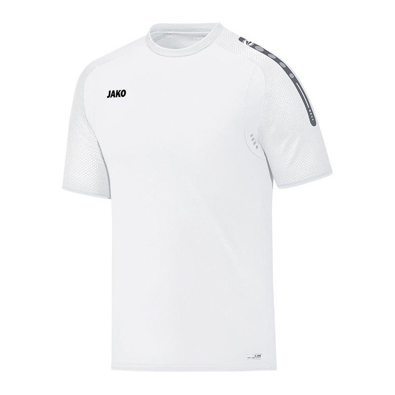 Jako Champ T-Shirt Weiss F00 - weiss