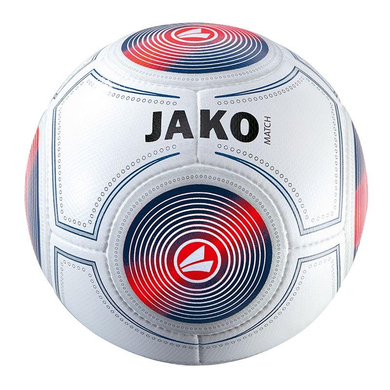 Jako Match Trainingsball Weiss Blau Gelb F17 - weiss