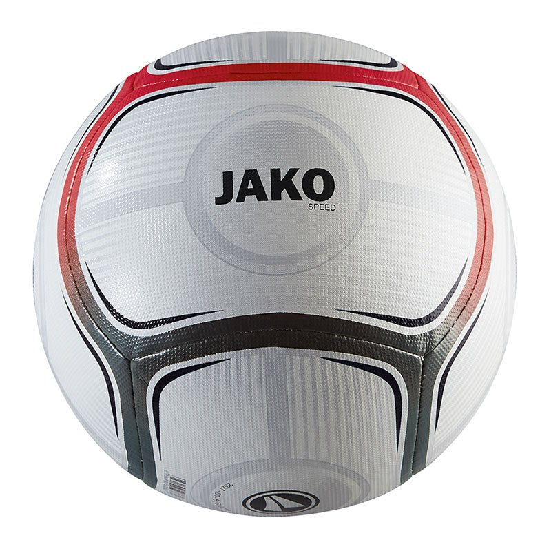Jako Speed Trainingsball Weiss Rot F18 - weiss