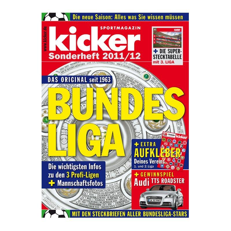 kicker Sonderheft Bundesliga 2011/12 - weiss