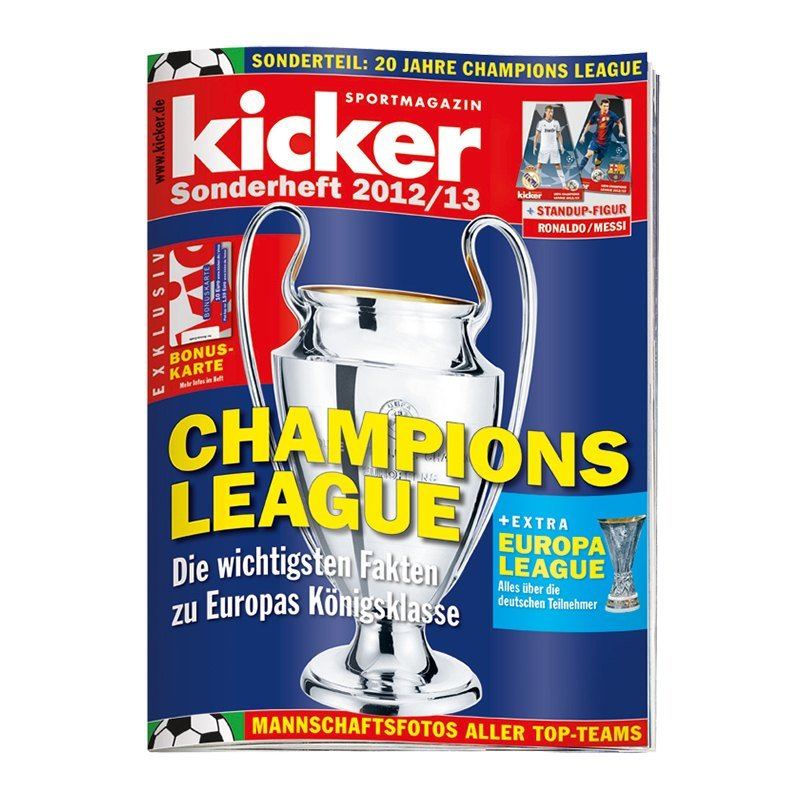kicker Sonderheft Champions League 2012/13 - weiss
