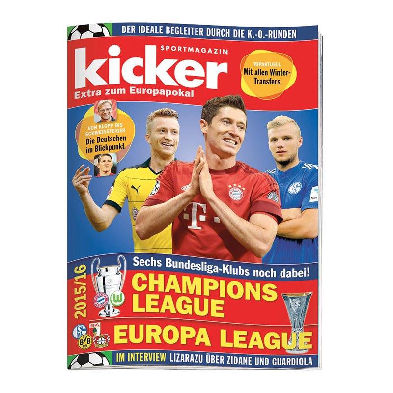 Kicker Champions League Sonderheft