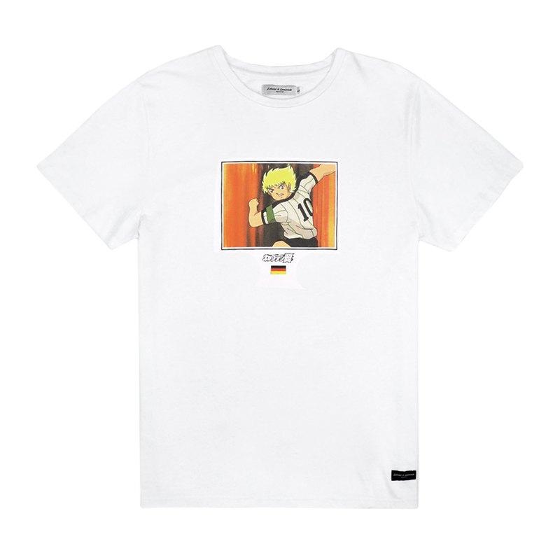 L&L Karl Heinz Schneider Germany T-Shirt Weiss - weiss