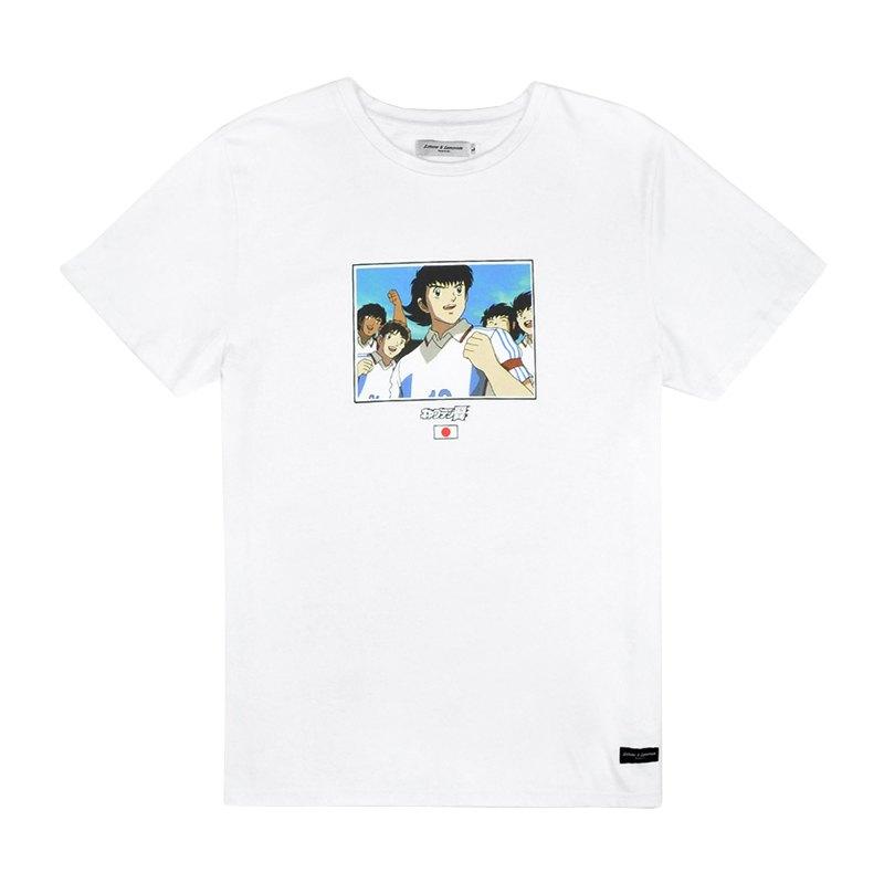 L&L Tsubasa Ozora Japan T-Shirt Weiss - weiss