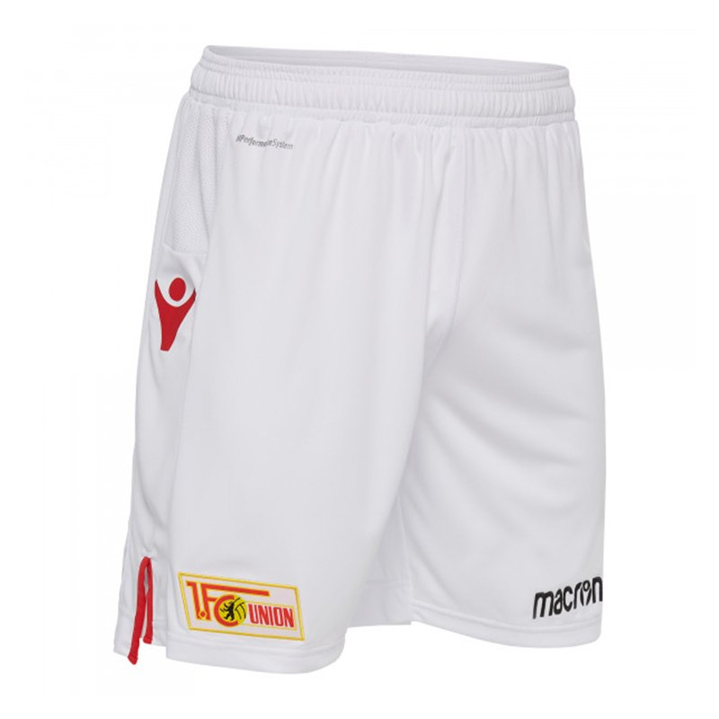 Macron 1. FC Union Berlin Short Away 2018/2019 Weiss - weiss