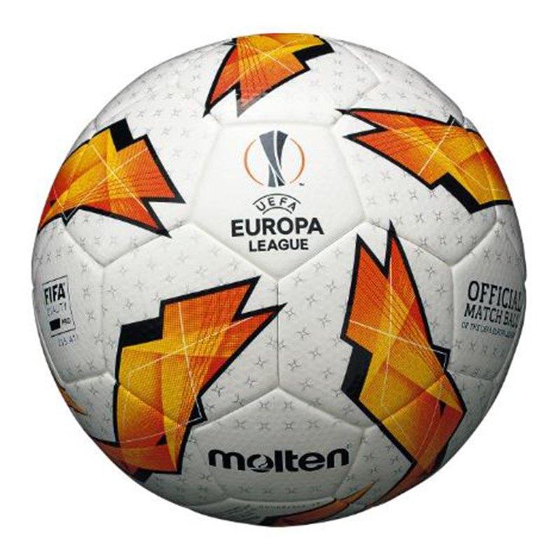 Molten UEL Euroleague Spielball Weiss Orange - weiss