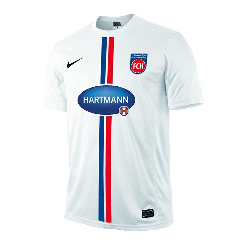 Nike 1. FC Heidenheim Trikot Home Kids 15/16 F100 - weiss
