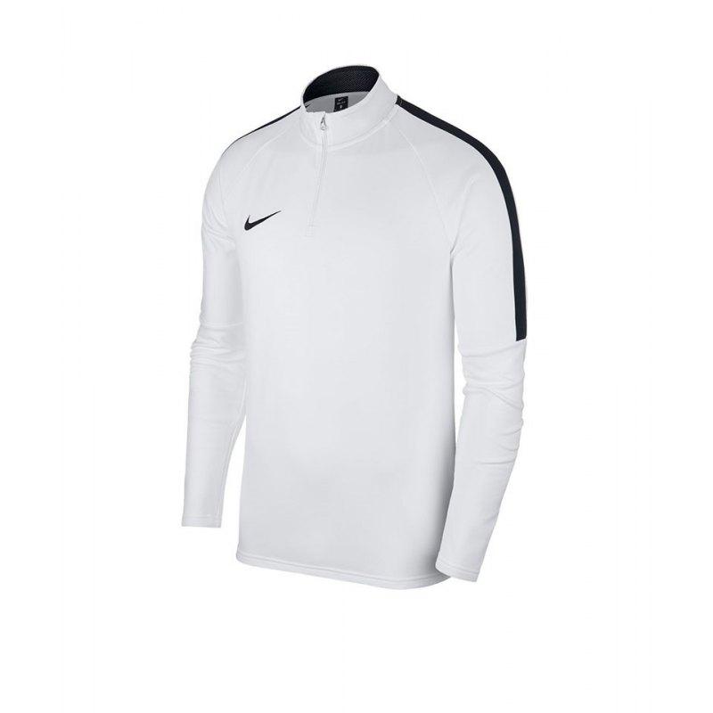 Nike Academy 18 Drill Top Sweatshirt Weiss F100 - weiss