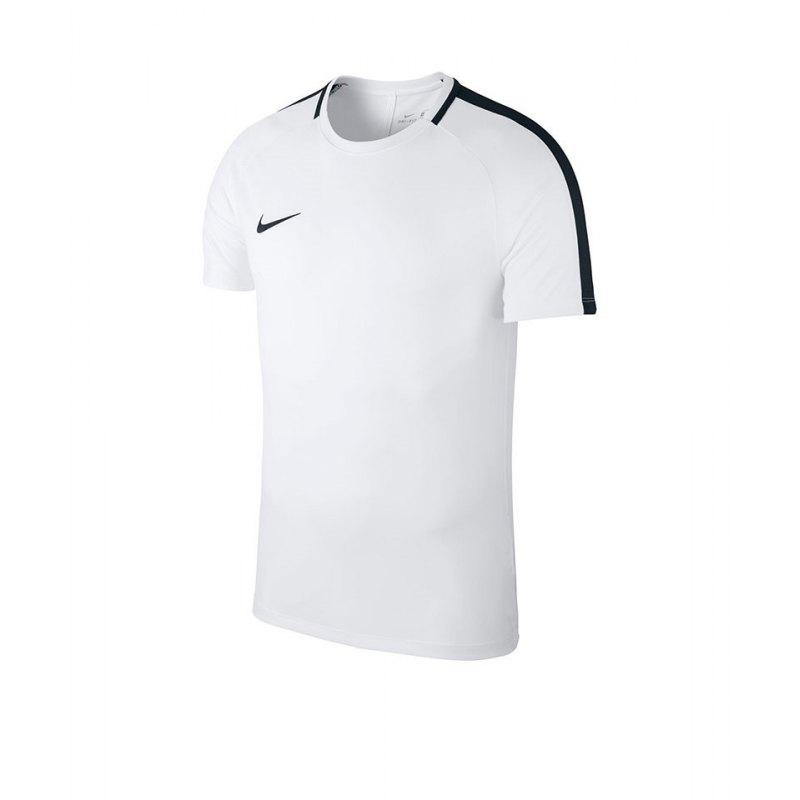 Nike Academy 18 Football Top T-Shirt Kids F100 - weiss