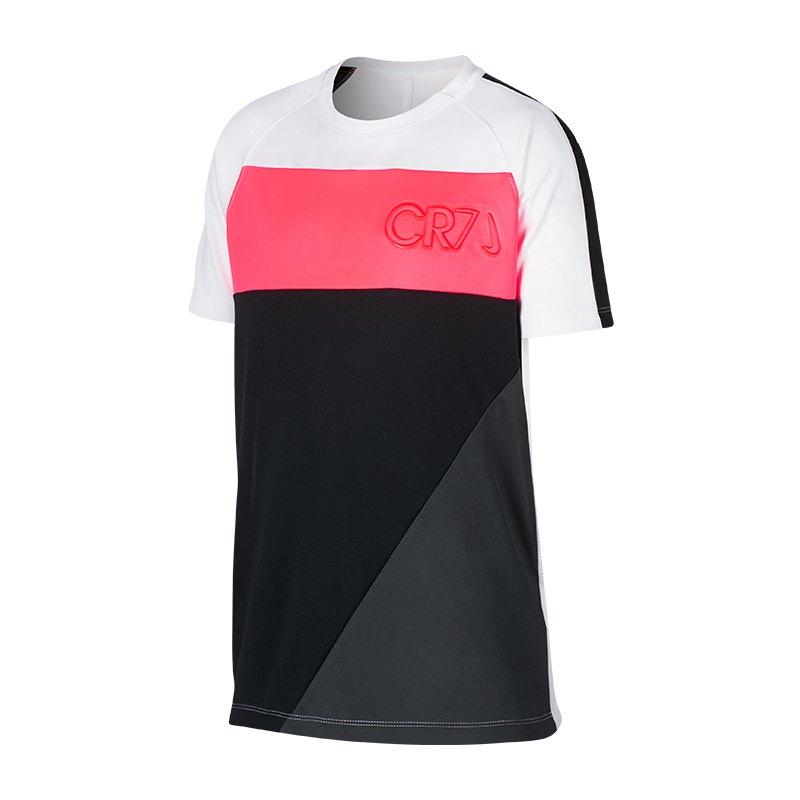 Nike Academy Dry CR7 T-Shirt Kids Weiss F100 - weiss
