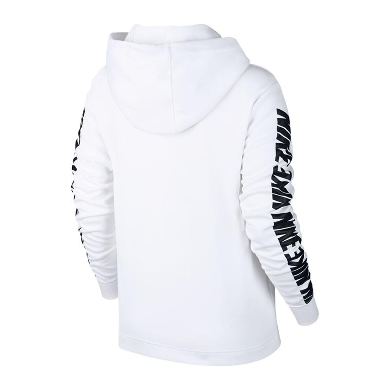 nike advance 15 hoody damen weiss schwarz f100 lifestyle. Black Bedroom Furniture Sets. Home Design Ideas
