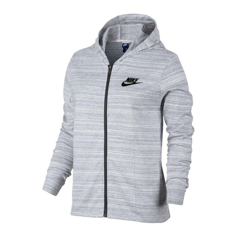 Nike Advance 15 Knit Jacke Damen Weiss F100 - weiss