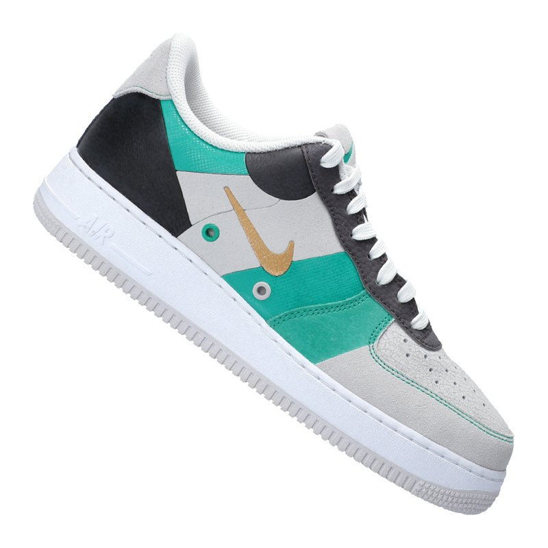 nike sneaker weiss f100 air force 1 07 premium style. Black Bedroom Furniture Sets. Home Design Ideas